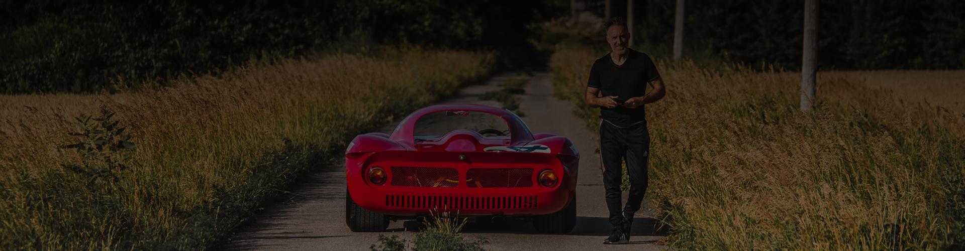 Ferrari Dino & Hassan Moghadam