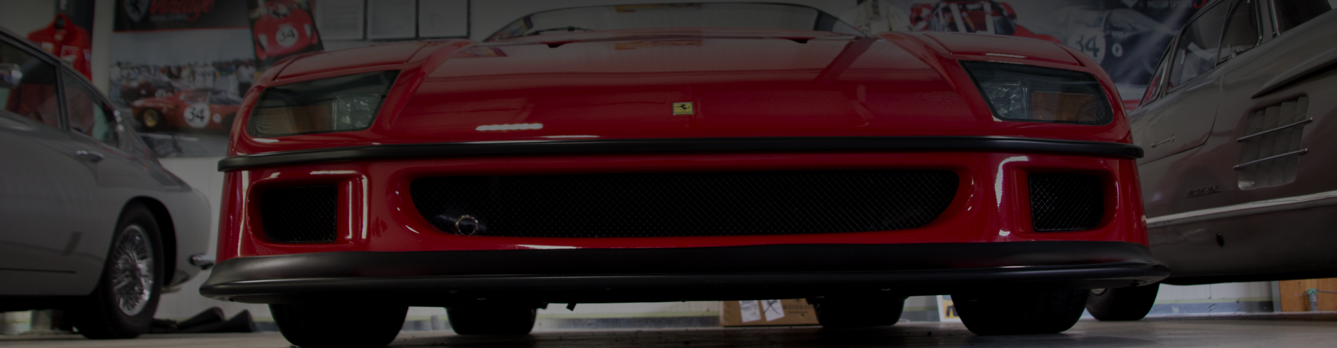 Ferrari as seen from ground level