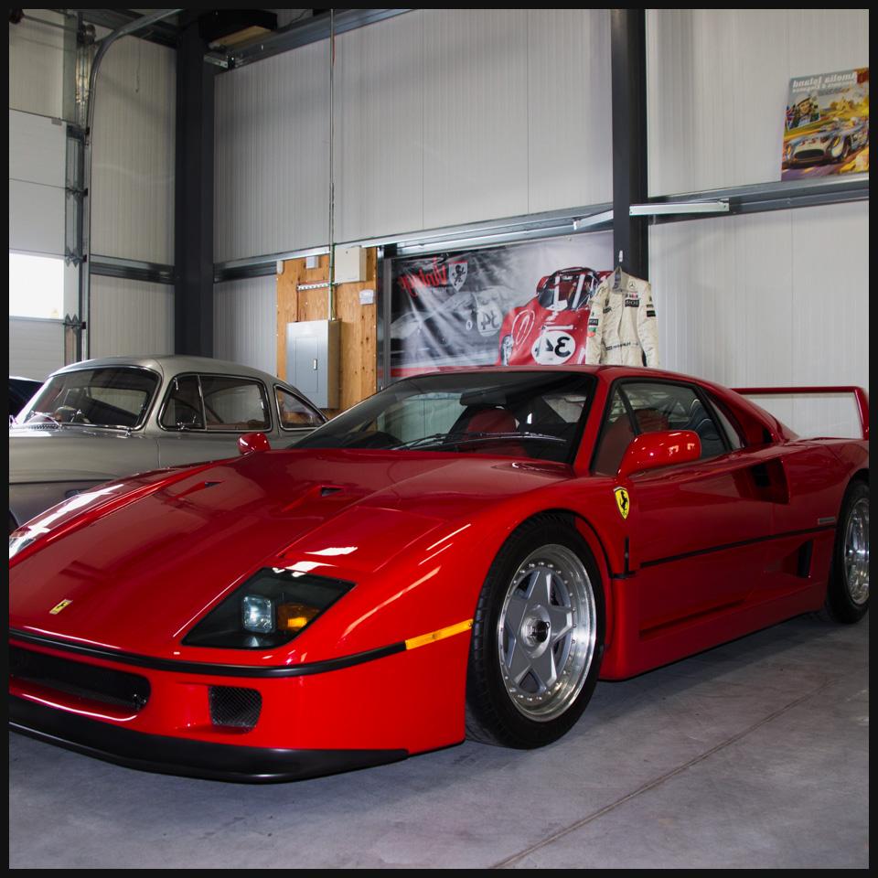 1990 Ferrari F40 at Vintage Motor Sports in Ottawa