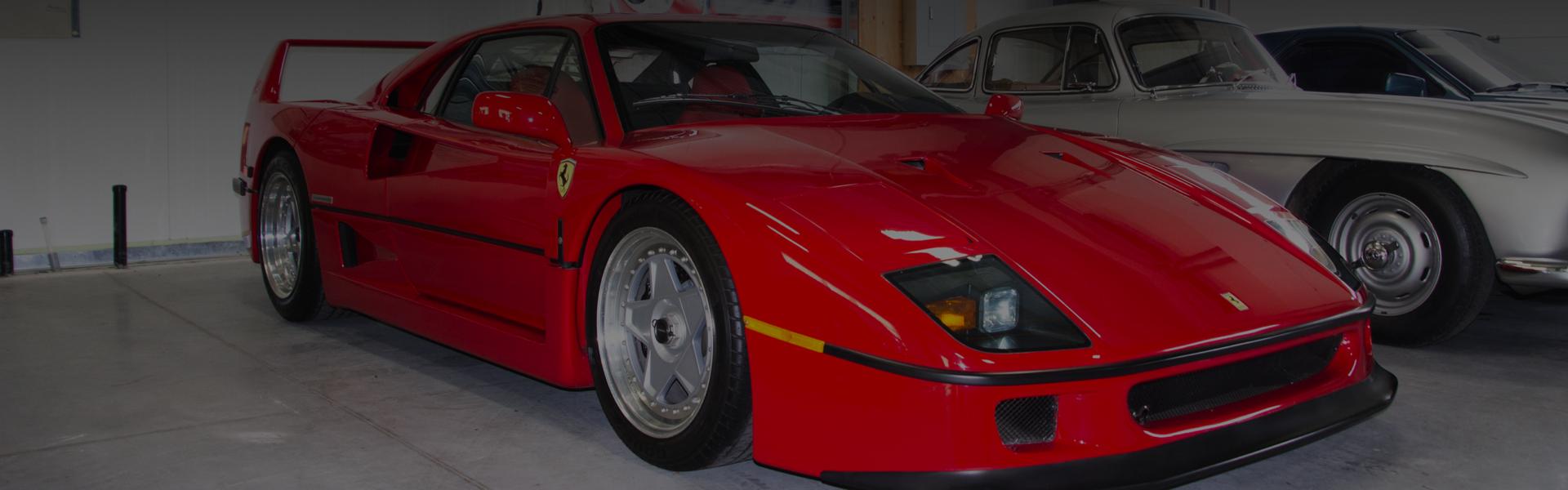 1990 Ferrari F40 at Vintage Motor Sports